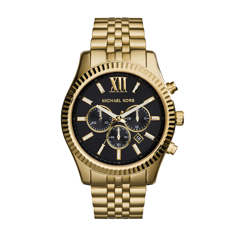 Michael Kors MK8286 - Oversized Lexington Chronograph - Gold