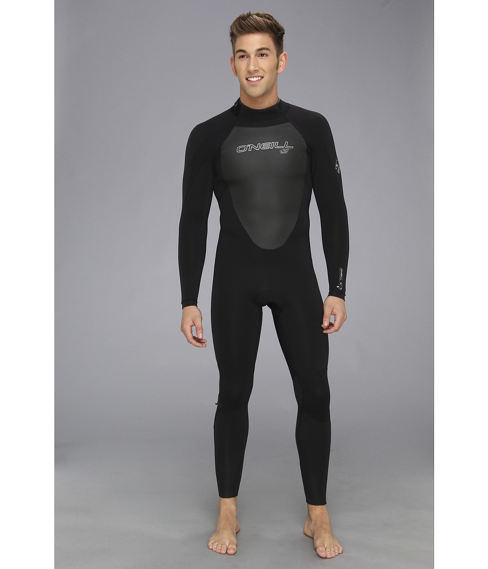 ONeill - EPIC 4/3 (Black/Black/Black) Mens Wetsuits One Piece