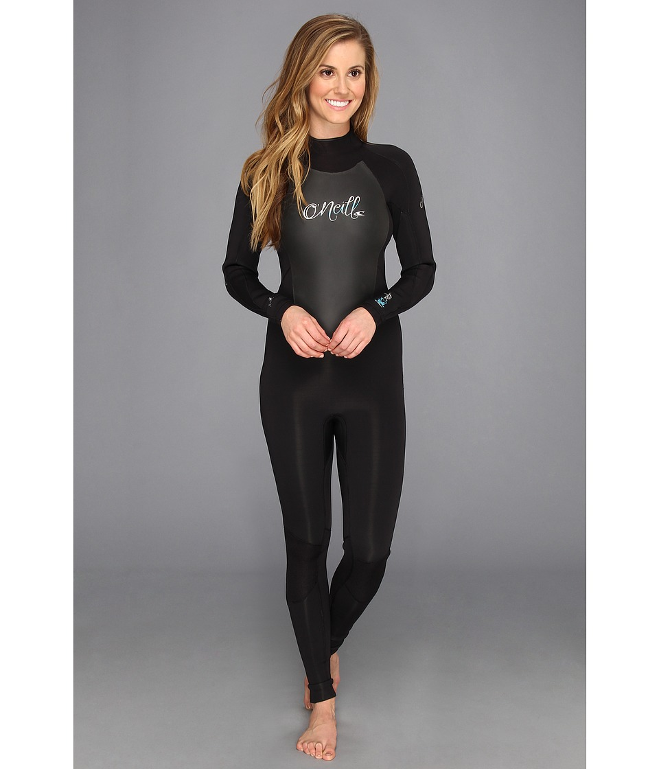 ONeill Epic 3/2MM Wetsuit Black/Black/Black Womens Wetsuits One Piece
