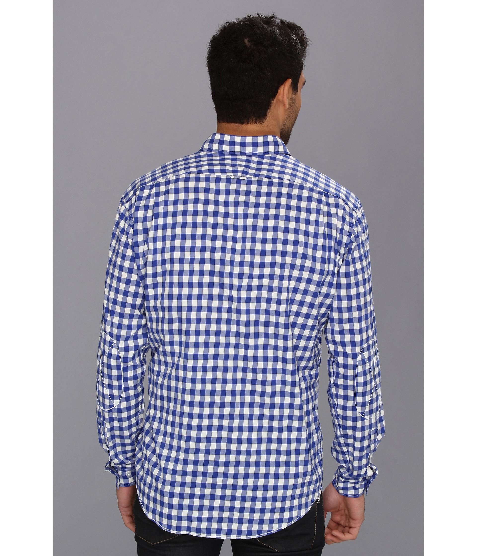 Рубашка под синие брюки 7