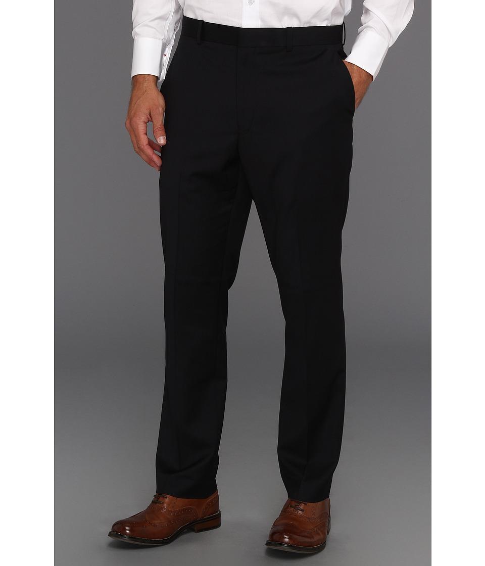 Perry Ellis Portfolio Slim Fit Mini Stripe Pant Midnight Blue Mens Dress Pants