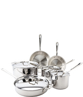 All-Clad - Stainless Steel 10-Piece Cookware Set