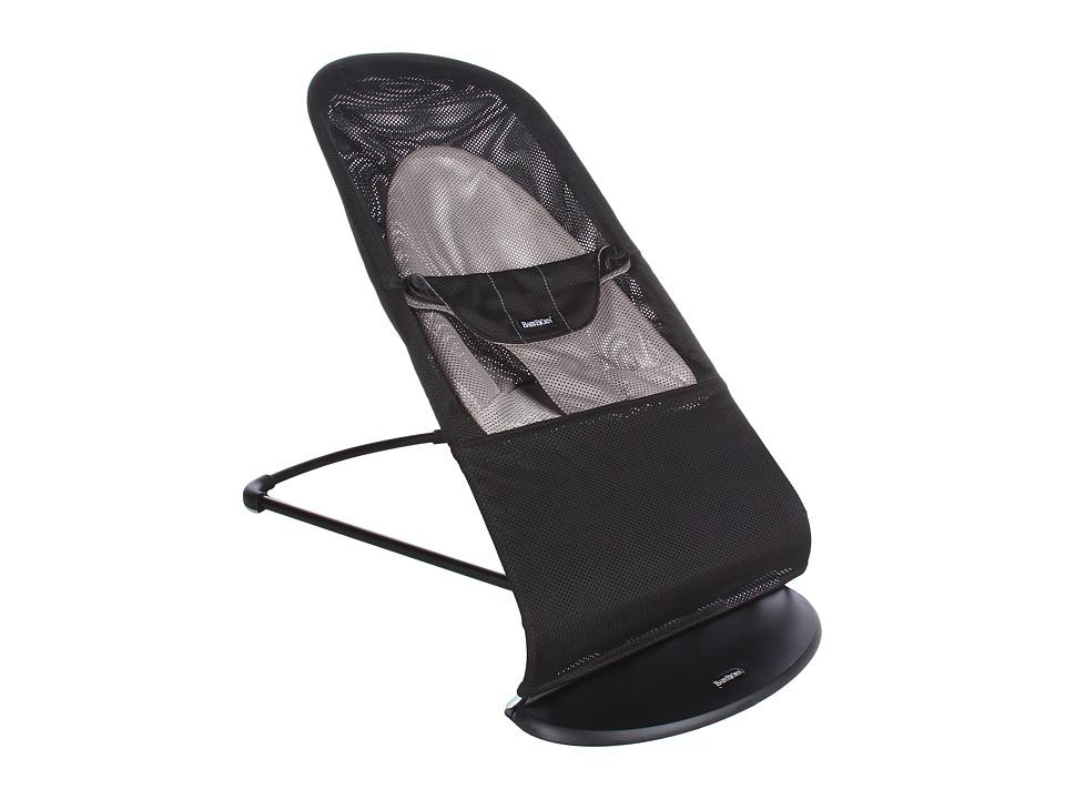 BabyBjorn Bouncer Balance Mesh Black/Gray Mesh Strollers Travel