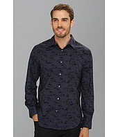 Perry Ellis - Tree Print L/S Shirt