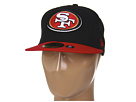 New Era San Francisco 49ers NFL Black Team 59FIFTY (Black/Red)