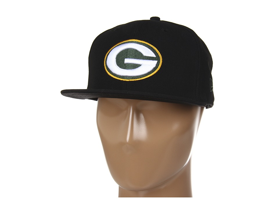 New Era - Green Bay Packers NFL Black Team 59FIFTY