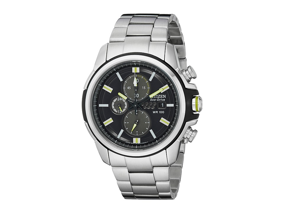 Citizen Watches CA0428 56E Drive from Citizen Eco Drive AR 2.0 Stainless Steel Chronograph Watch Two Tone Stainless Steel and Plastic Analog Watches