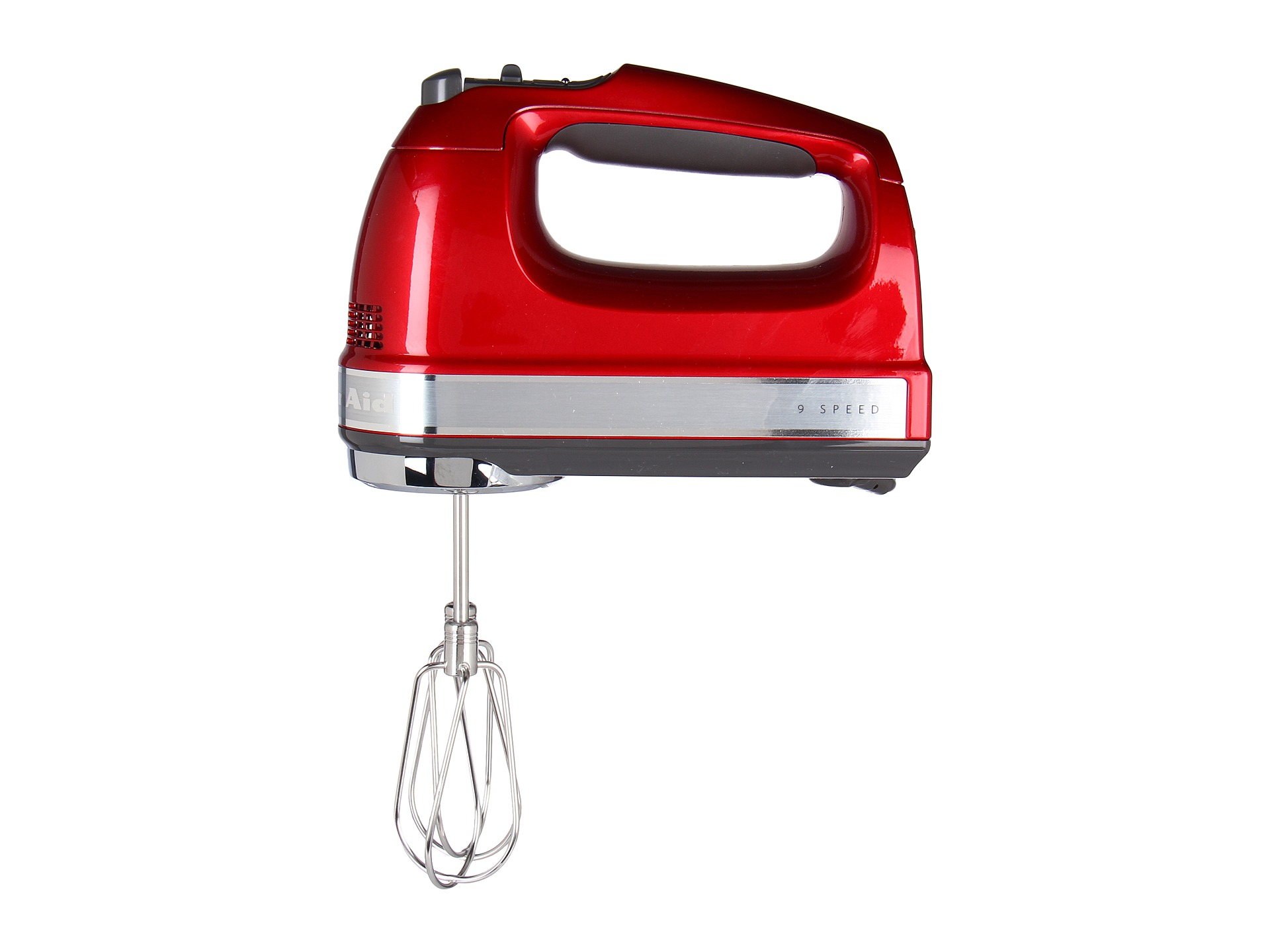 Kitchenaid Khm926 9 Speed Hand Mixer Candy Apple Shipped