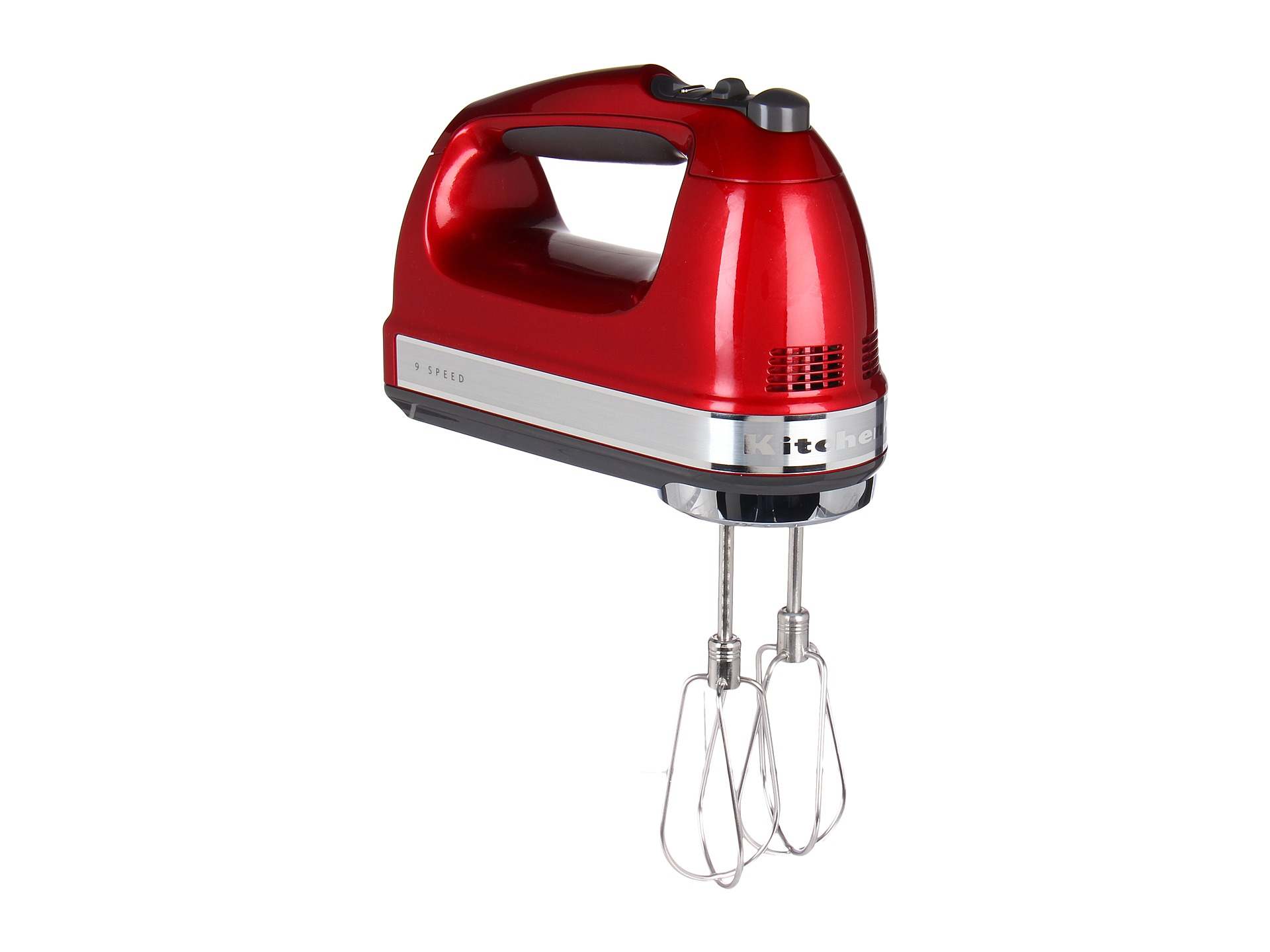 Kitchenaid khm926 9 speed hand mixer candy apple shipped for Kitchenaid hand mixer