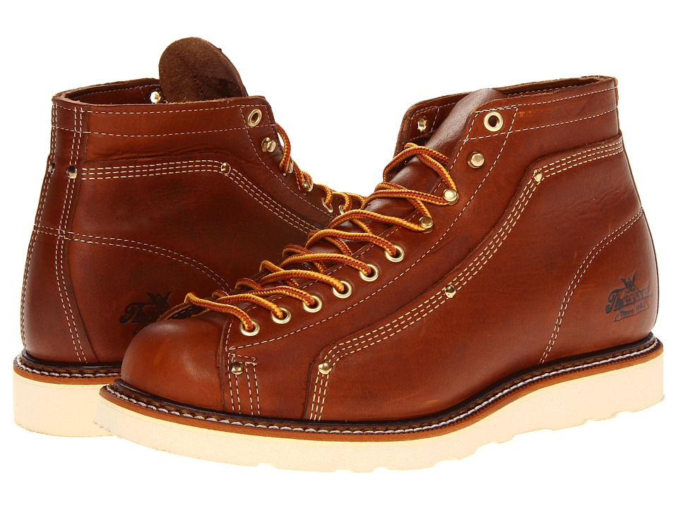 Thorogood Lace To Toe Roofer Tobacco Mens Work Boots