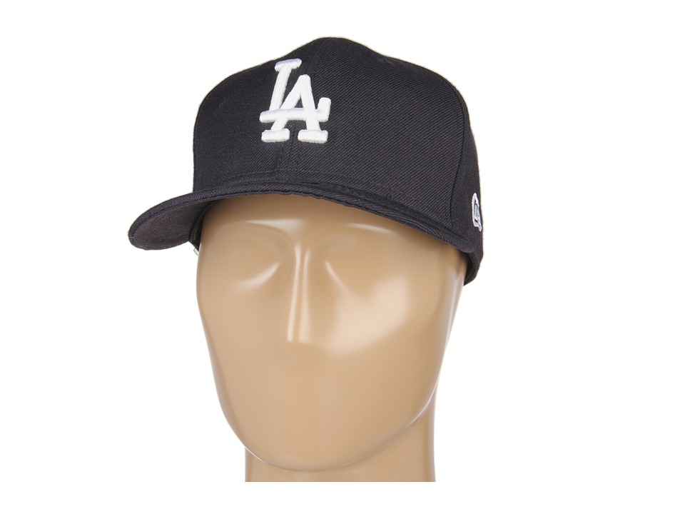 New Era 59FIFTY Los Angeles Dodgers Navy/White Caps