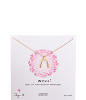 Dogeared - Wish Big Wishbone Necklace