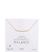 Dogeared - Balance Large Square Bar Necklace
