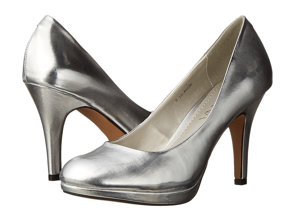 Amiana 15-A5256 (Little Kid/Big Kid/Adult) (Silver Metallic) High Heels