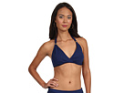 LAUREN Ralph Lauren Laguna Solids Twist Molded Cup Halter Top