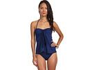 LAUREN Ralph Lauren Laguna Solids Flyaway Strapless Swimsuit