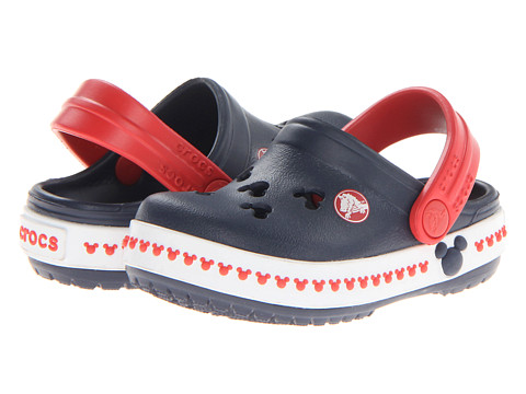 Crocs Kids Crocs Kids - Crocband Mickey Clog 3 (Toddler/Little Kid)