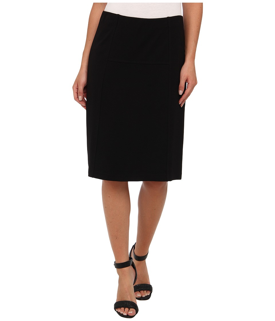 NIC+ZOE - New Ponte Flirt Skirt (Black Onyx 2) Womens Skirt