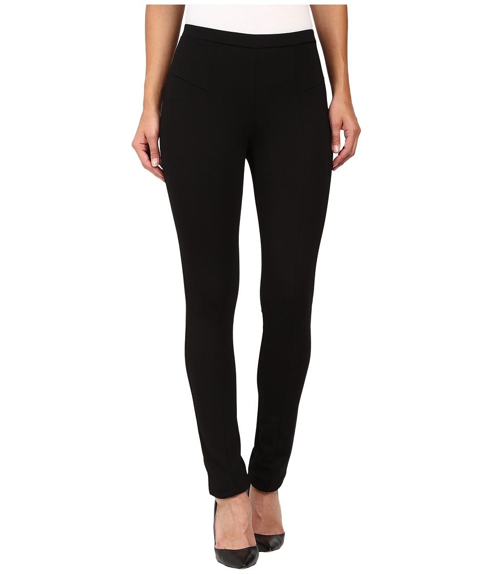 Nic+Zoe Perfect Ponte Pant (Black Onyx) Women's Dress Pants