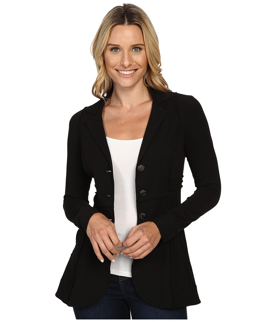 NIC+ZOE - Seamed Riding Jacket (Black Onyx) Womens Jacket