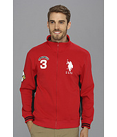 U.S. POLO ASSN. - Fleece Full Zip Long Sleeve Track Jacket