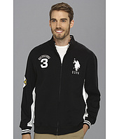U.S. POLO ASSN. - Fleece Full Zip Long Sleeve Track Jacket