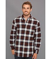 U.S. POLO ASSN. - Yarn Dyed Twill Shirt with Large Plaid Pattern