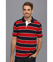 U.S. POLO ASSN. - Yarn Dyed Striped Polo with Small Pony