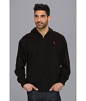 U.S. Polo Assn - Full Zip Long Sleeve Hoodie with Small Pony