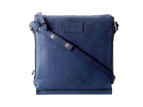 ECCO - Barra Crossbody Bag (Denim Blue) - Bags and Luggage