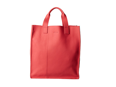 ECCO - Dalaman Shopper (Teaberry Full Grain Cow Leather) - Bags and Luggage