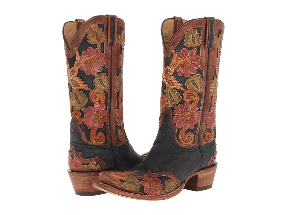 Lucchese-L4690.S53--(Black-Tooled-Eden)-Cowboy-Boots
