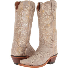 M4715.S54 (Stone Python Print) Cowboy Boots