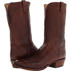 L1661.63 (Whiskey Burnished Baby Buffalo) Cowboy Boots