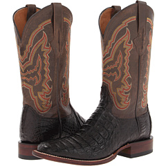 M4539 (Cigar Hornback Caiman/Chocolate Mad Dog) Cowboy Boots