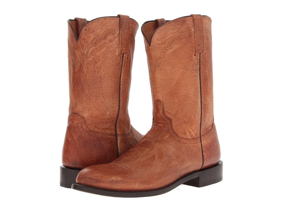 C2 (Tan Mad Dog Goat Roper) Cowboy Boots