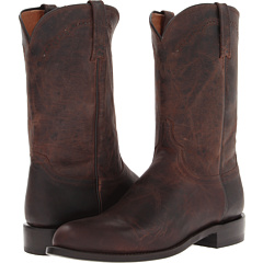 M1018.C2 (Chocolate Madras Goat Roper) Cowboy Boots