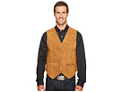 Scully Rugged Calf Suede Vest