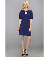 BCBGMAXAZRIA - Cypress Shawl Top Dress