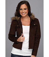 Scully - Alena Faux Fur Zippered Hood Jacket