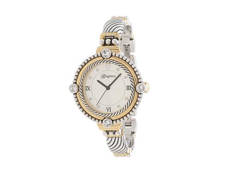 Brighton Costa Mesa Timepiece - Silver/Gold/Stone