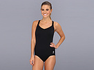 TYR - Solid Halter Controlfit Swimsuit (Black) - Apparel<br />