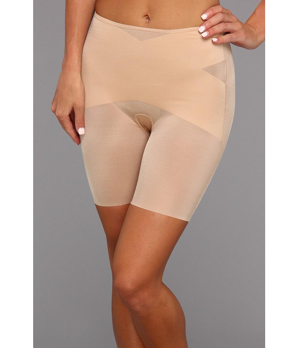 Spanx Skinny Britches Super Mid Thigh Shaper Nude Womens Underwear
