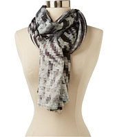 Echo Design - Digital Mosaic Geo Wrap Scarf