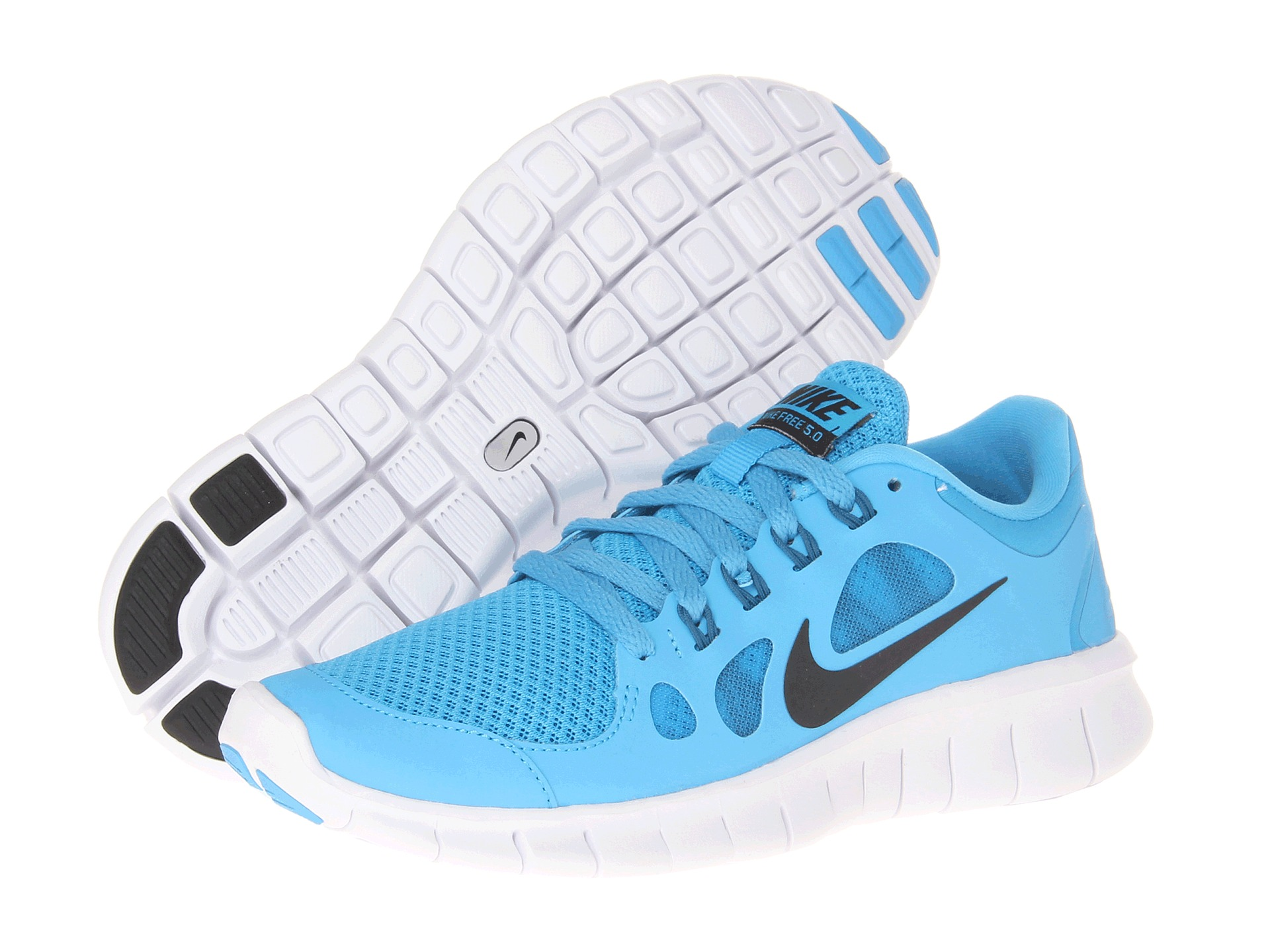nike kids free run 5 0 big kid shipped free at zappos. Black Bedroom Furniture Sets. Home Design Ideas