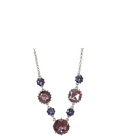 Betsey Johnson - Iconic Amethyst Gem Frontal Necklace