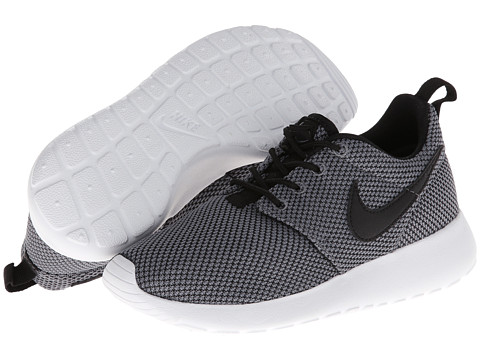 grey roshe run kids