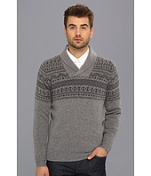 Ben Sherman - Shawl Collar Fairisle Sweater