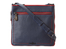 Cole Haan - Parker Colorblock Sheila Crossbody (Armor/Black) - Bags and Luggage