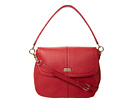 Cole Haan - Village Jenna Shoulder Bag (Velvet Red) - Bags and Luggage